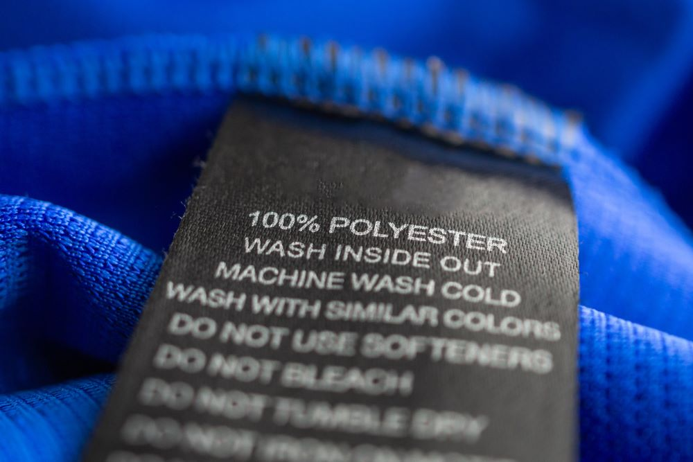 Washing polyester garments can cause them to release hundreds of thousands of microplastics, but wearing them can slough off a lot more.