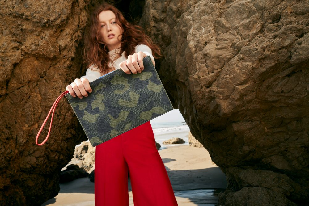 Digitally native footwear brand Rothy's debuted Tuesday a new line of five bag silhouettes responsibly made from ocean-bound plastic.