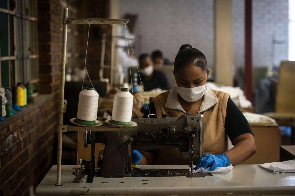 The South African Clothing and Textile Workers Union has brokered a deal to guarantee six weeks of full pay for 80,000 workers.