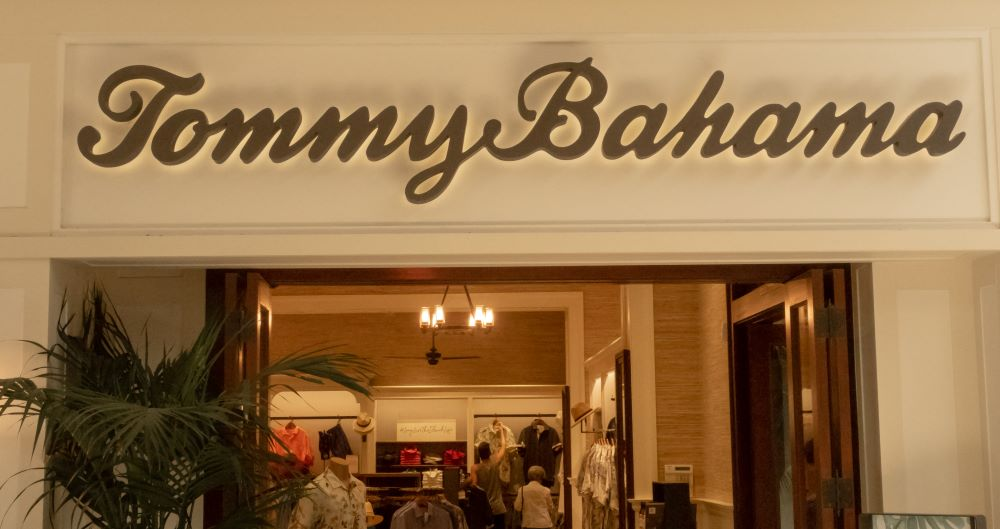 tommy bahama revenue