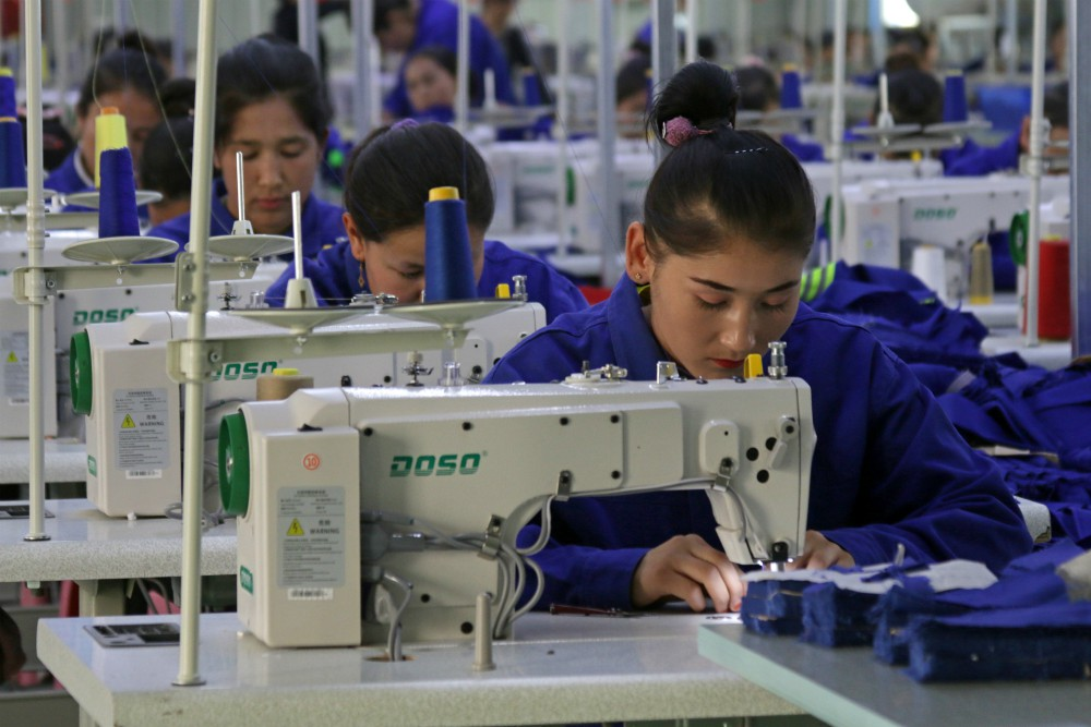 China's identity as the nucleus of the global supply chain may be fading as allegations of forced labor persist.