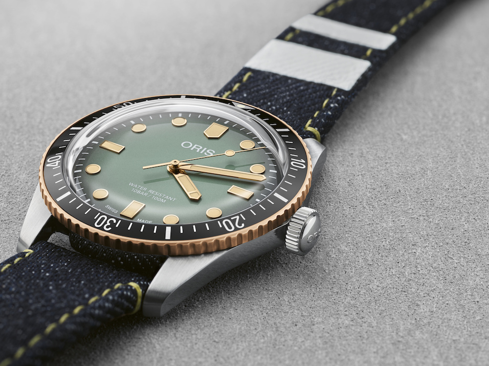 Oris x Momotaro just dropped a dream watch for denim heads.