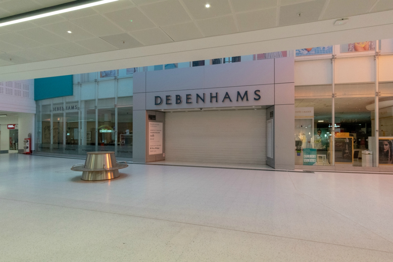 Debenhams, in bankruptcy proceedings, appoints administrators for its UK operation and plans to liquidate its business in Ireland.