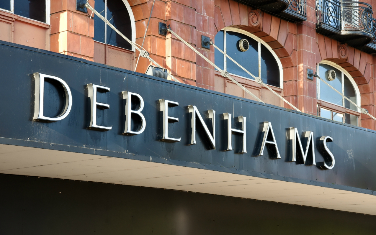 Store closures from the coronavirus outbreak have British retailer Debenhams planning to file for insolvency a year after its first petition.