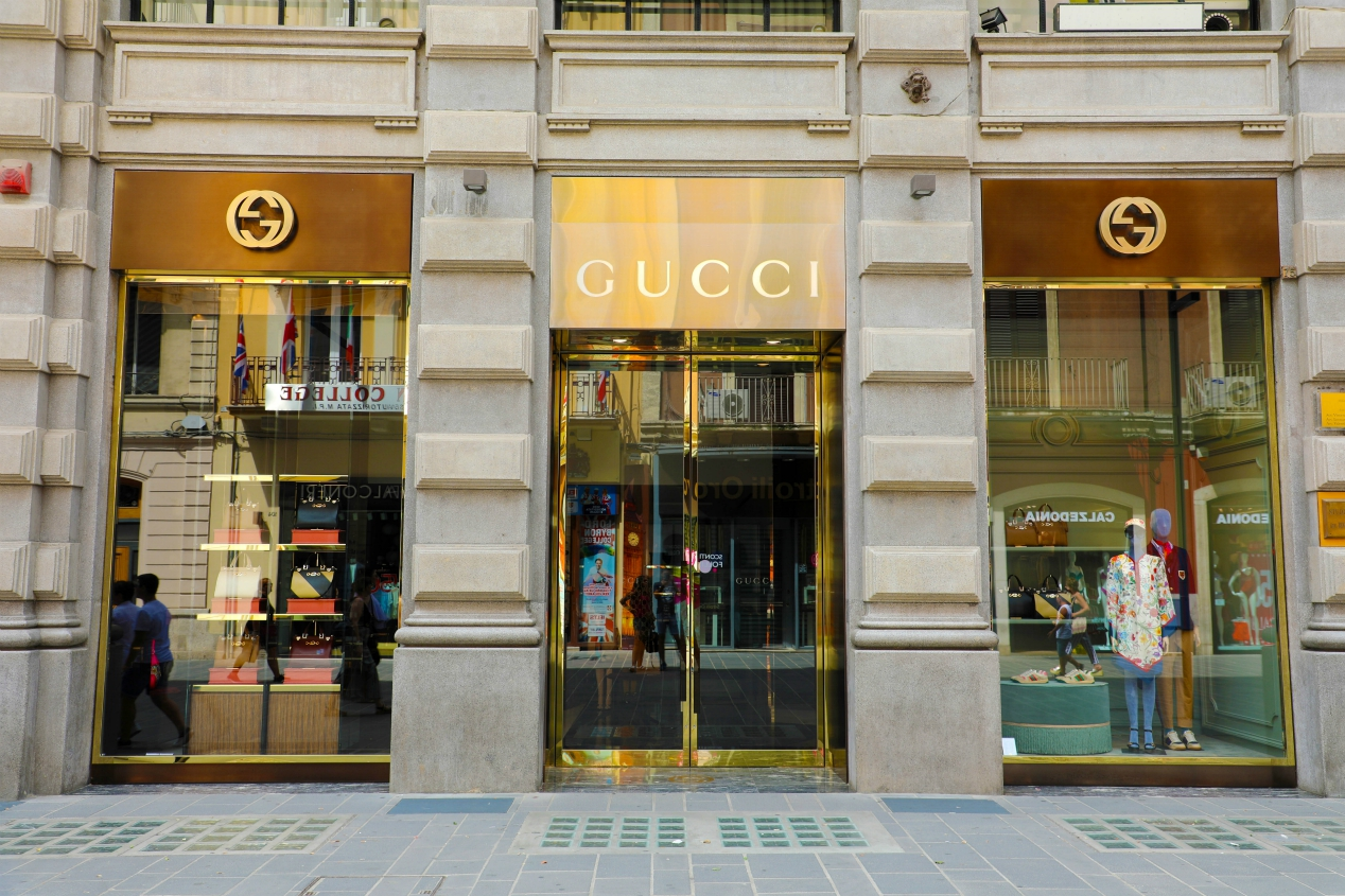 Of all of Kering Group's fashion houses, the coronavirus outbreak has hurt its Gucci brand the most, with sales down 22.4 percent.