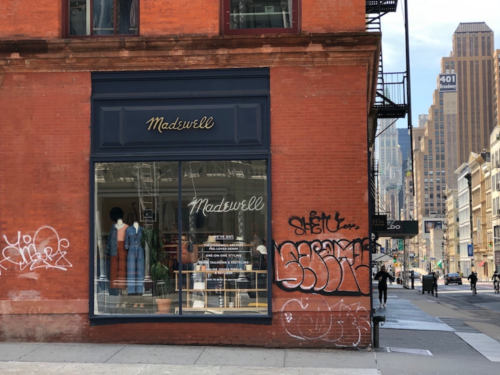 Retailers prepare for a long shutdown in New York City.