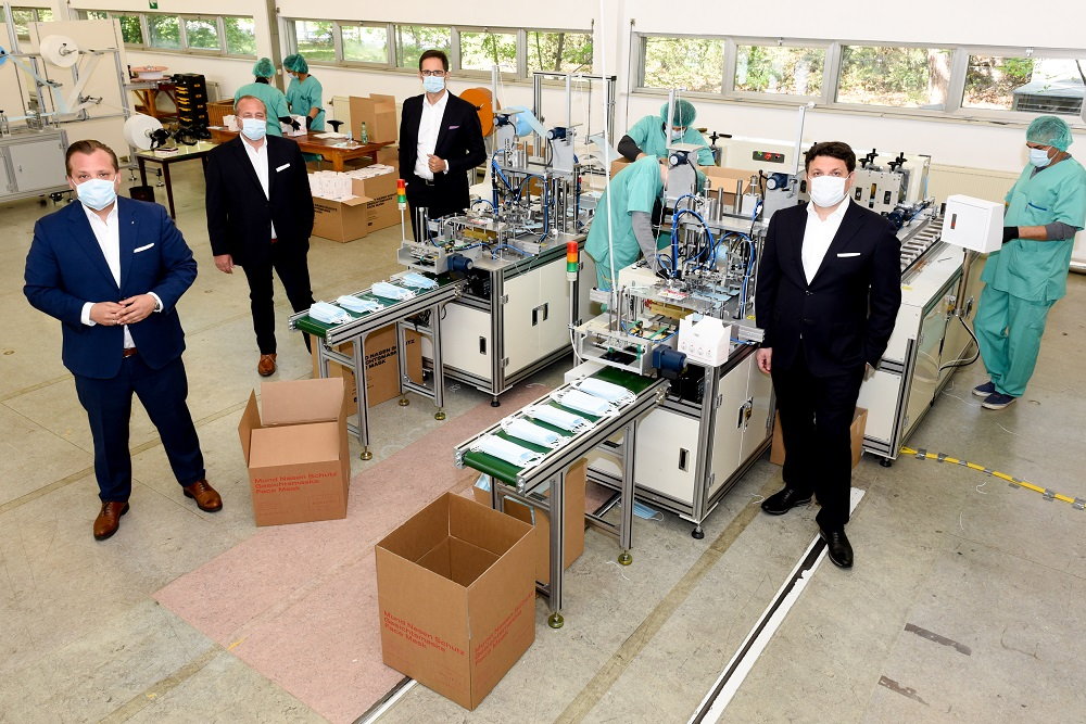Lenzing and Palmers Textil have created Hygiene Austria and will start producing and selling protective masks next month.