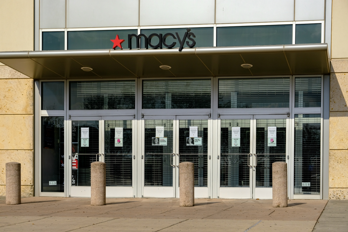 The coronavirus pandemic has reduced Macy's market cap to $1.4 billion, moving it off the S&P 500, as others in retail could follow suit.