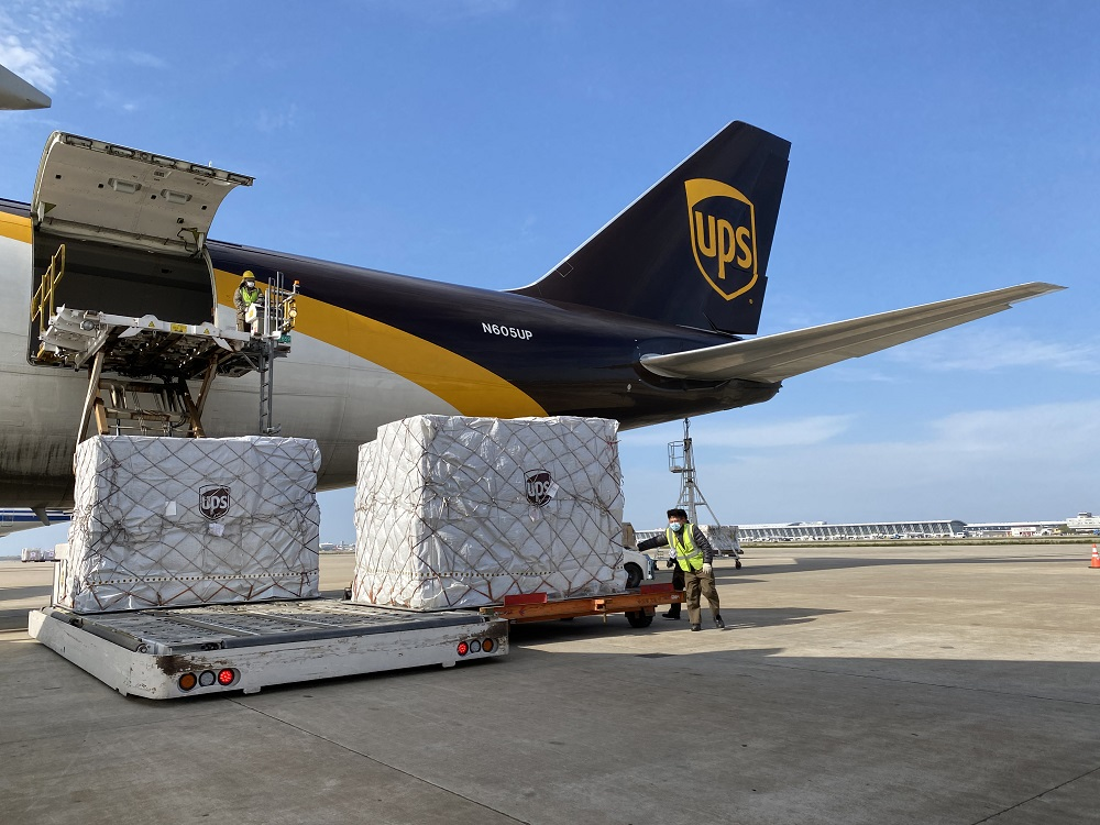 UPS is managing 25 flights for Project Airbridge, an effort between FEMA, several countries and the private sector to fight coronavirus.