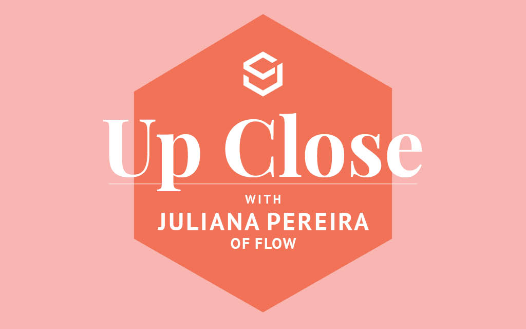 In this interview, Flow vice president of marketing Juliana Pereira discusses how working in online retail has shaped her shopping behavior.