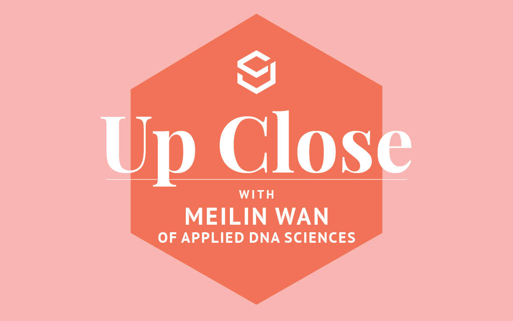 In this interview, MeiLin Wan, vice president textile sales at Applied DNA Sciences, shares how science can help fashion with transparency.