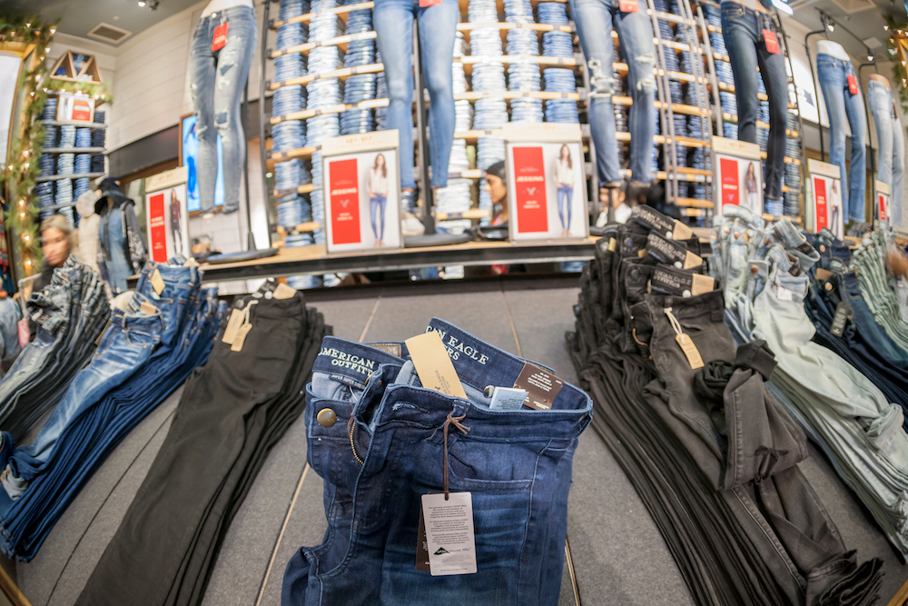 In a new trademark lawsuit, American Eagle Outfitters claims Walmart is selling women's jeans with the brand's distinct back pocket design.