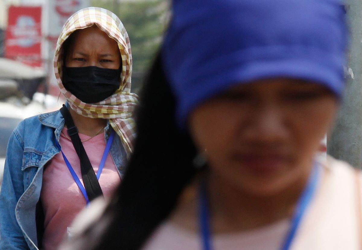 Cambodia's $7 billion garment and footwear industry is on the brink of disaster as nearly one in six factories stands idle in the pandemic.
