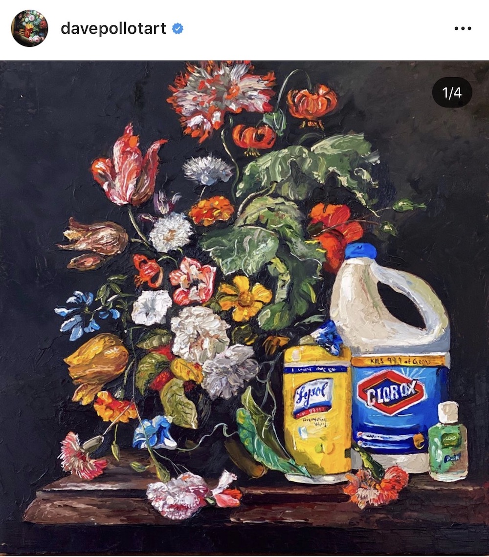 Art is considered a barometer of civilization, and though museums around the world are closed for an unknown amount of time, contemporary artists are sharing their new work across social media.