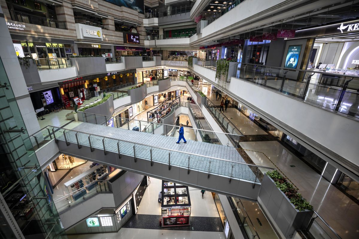 Just 35 percent of shoppers feel comfortable going to a mall or department store after coronavirus lockdowns loosen, First Insight found.