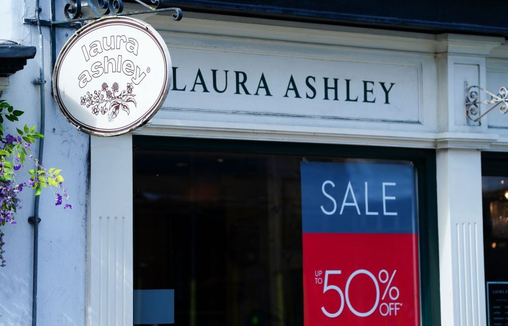 Insolvent Laura Ashley was acquired by Gordon Brothers' brands division, which invests in distressed firms or those needing restructuring.