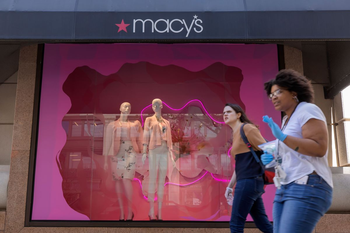 Macy's plans to reopen 68 stores on Monday in states that have loosened stay-at-home restrictions, joining a handful of other retailers.