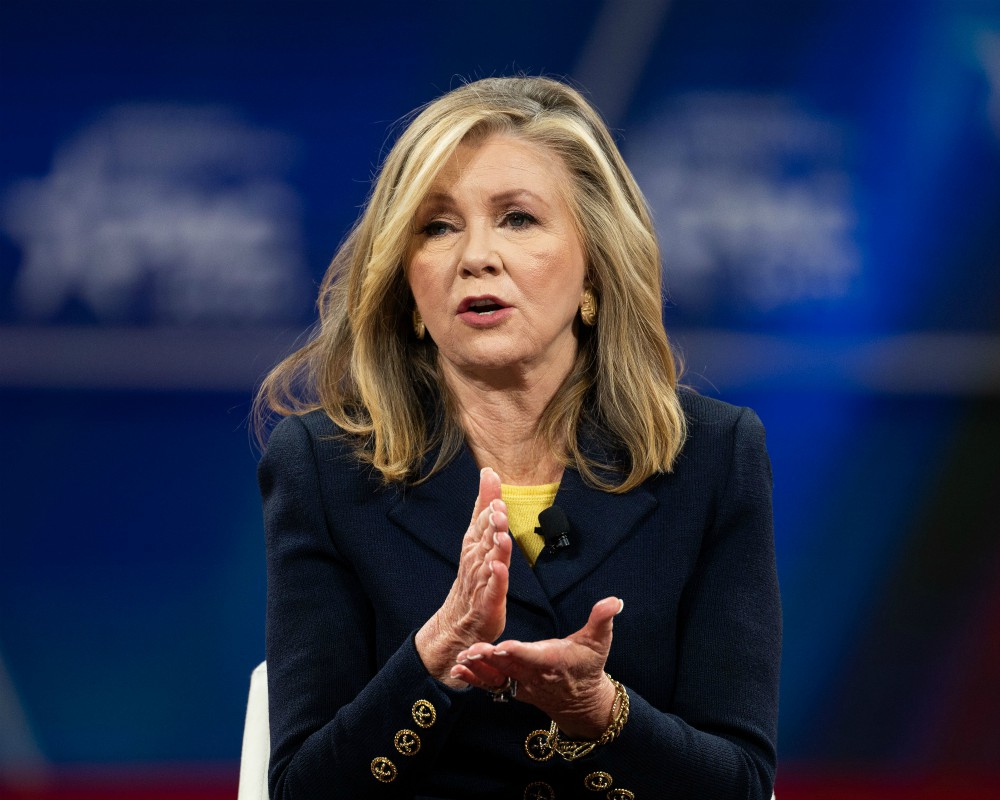 """Sen. Marsha Blackburn (R-TN) says the retail industry faces a """"different market"""" after coronavirus recovery."""