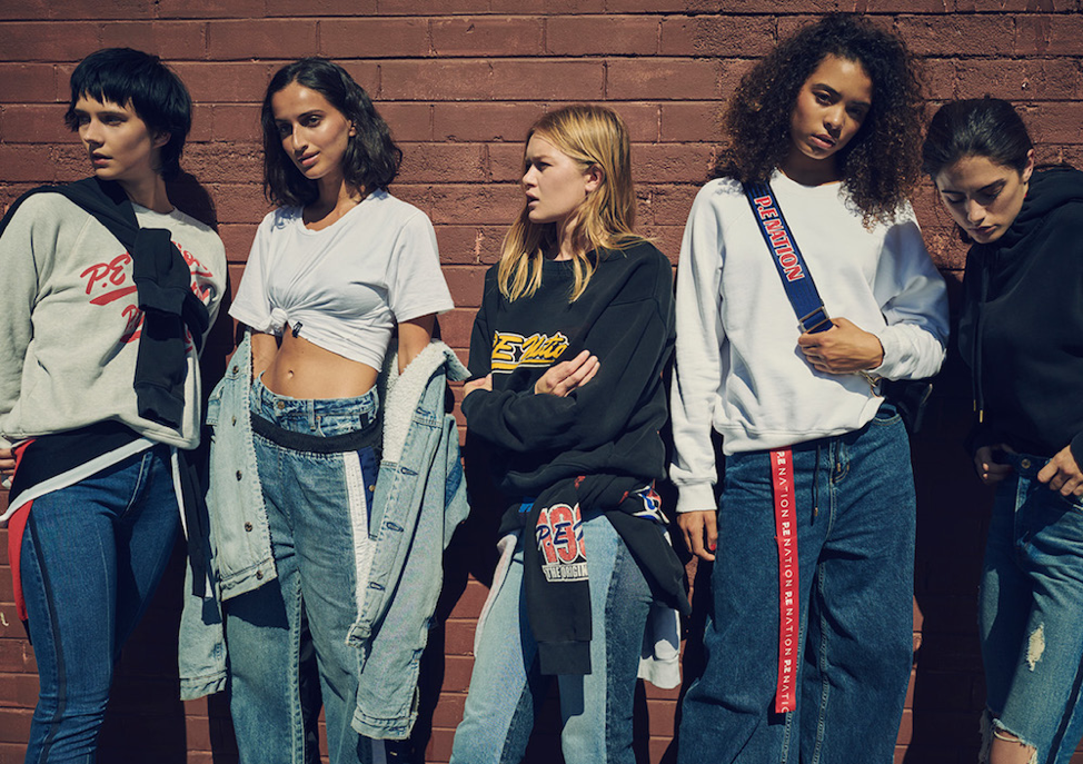 Fashionable activewear has become the standard during COVID-19, underscored by brands like P.E Nation that merge streetwear and activewear.