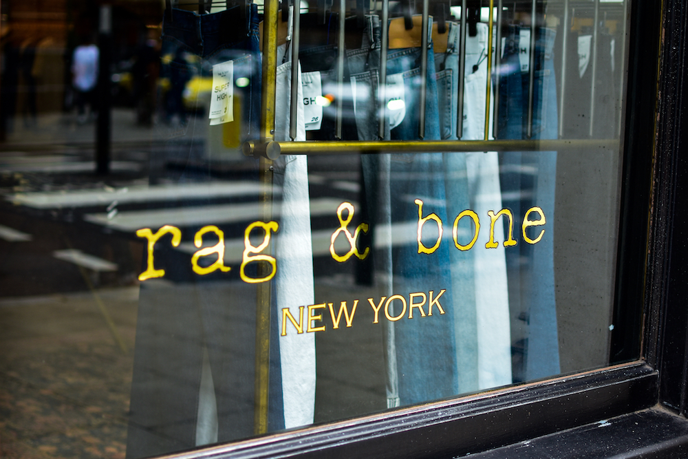 Denim brand Rag & Bone announced all items on its website will be discounted 25-70 percent to generate sales lost from coronavirus.