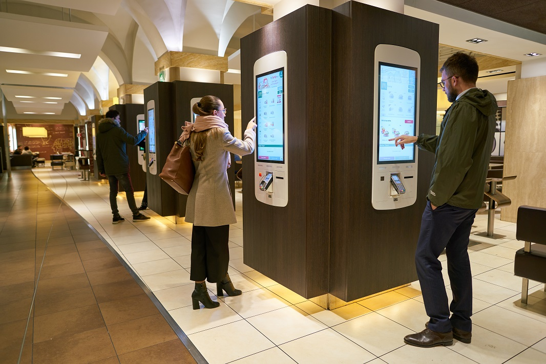 Contactless tech like mobile notifications, kiosks, lockers and vending machines could grow after coronavirus, say ActiveViam and Grubbrr.