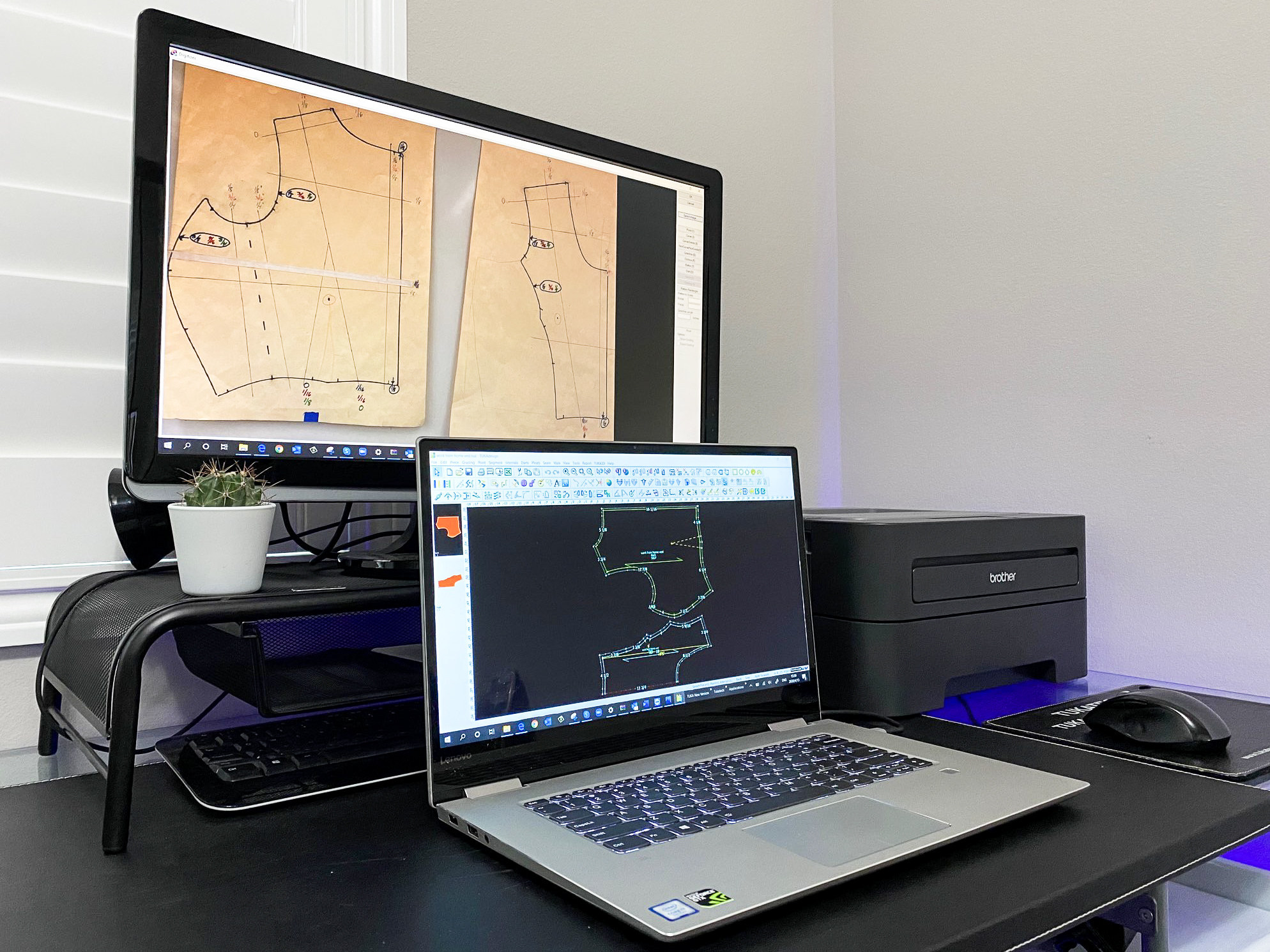 Tukatech Inc. has released the industry's first home printing and plotting system, bringing advanced pattern making and grading to those working from home.