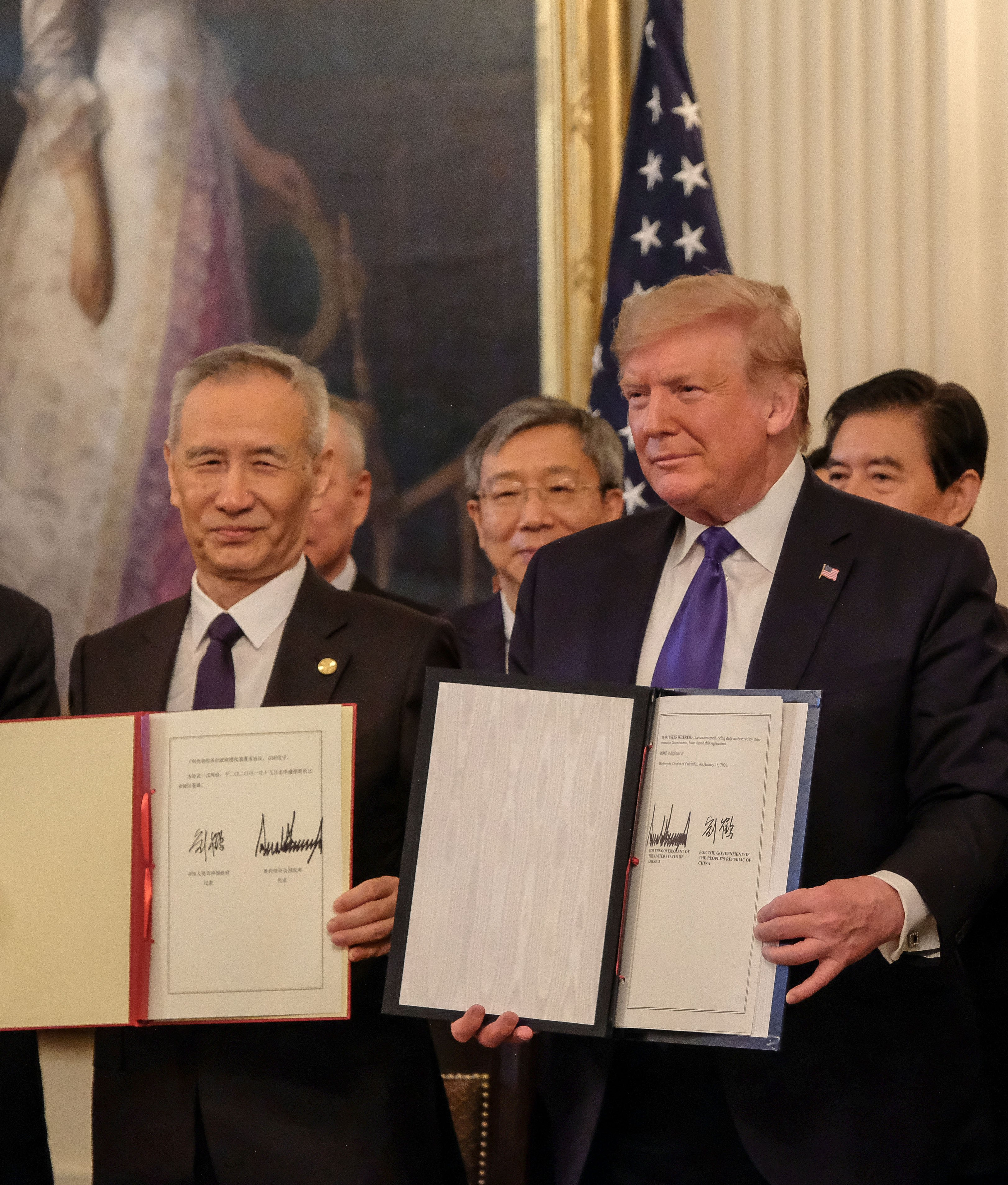 Top U.S. and China trade negotiators have agreed to advance plans laid out in the phase one trade deal despite the coronavirus crisis.