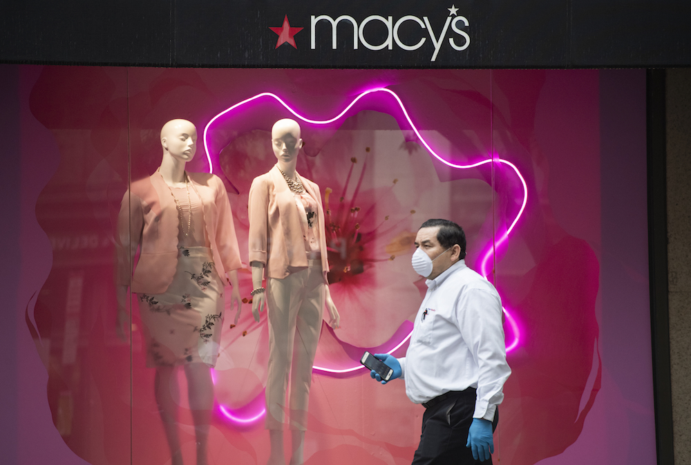 Macy's Inc. is reviewing its Polaris strategy for post-coronavirus as its reopens 80 doors on Friday, but said Q1 sales fell 45.5 percent.