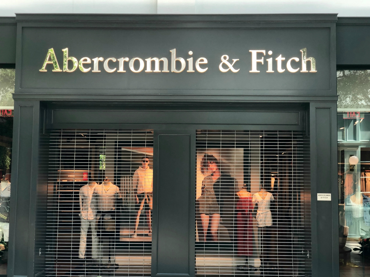 A&F and Hollister are reopening stores, and parent company Abercrombie sees customers in U.S., EMEA returning at quicker pace than China.