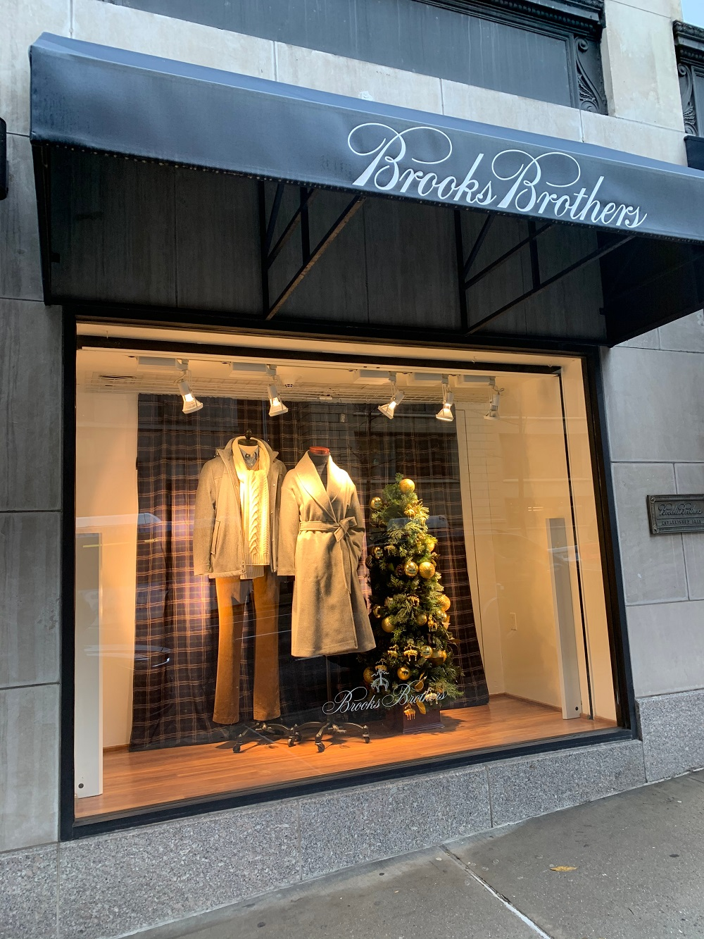 Brooks Brothers confirmed it's considering closing three U.S. apparel factories that make shirts and ties, potentially affecting 695 jobs.