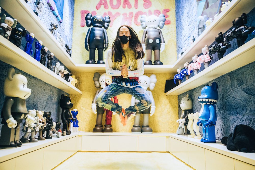 Candiani Denim and DJ Steve Aoki Collaborate on Hand-Painted Jeans