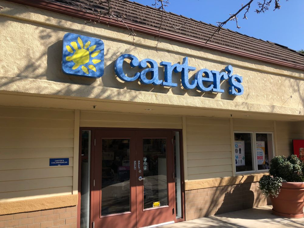 Childrenswear retailer Carter's Inc. will be reopening stores this week and reported a 12 percent decline in first-quarter net sales.