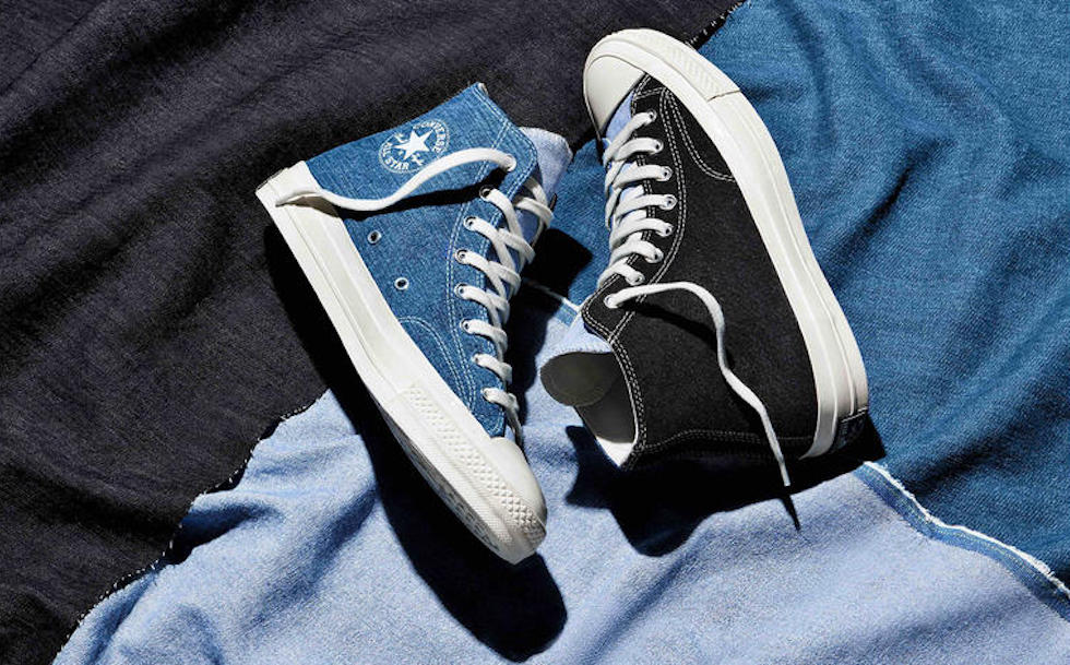 By teaming up with U.K.-based vintage retailer Beyond Retro, Converse is upcycling unwanted denim and jeans into consumer-ready sneakers.