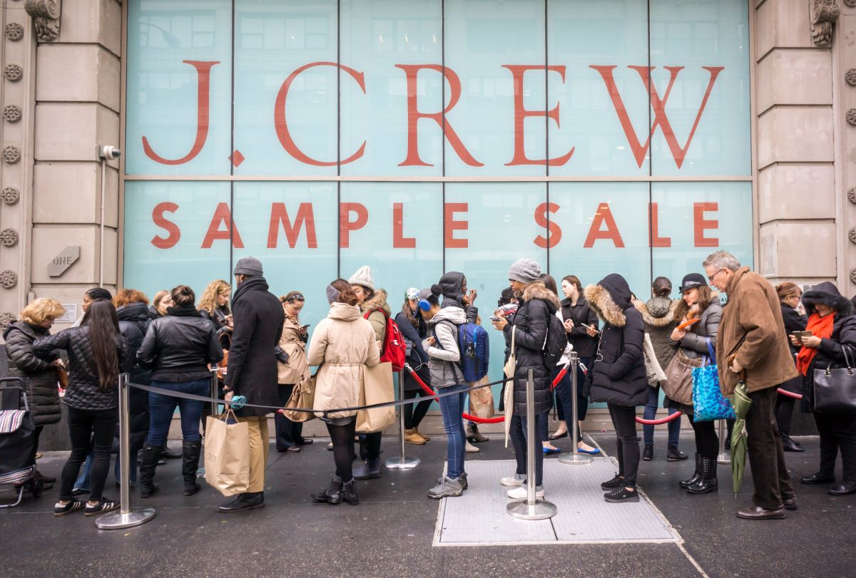 The J. Crew Group Inc. filed its voluntary Chapter 11 pre-packaged bankruptcy petition, with Madewell to remain under J. Crew's umbrella.
