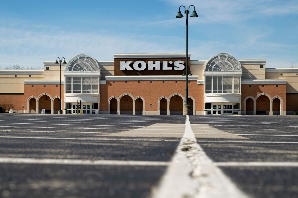 Kohl's Q1 sales tumbled as coronavirus shut down stores, but digital sales rose 24 percent and half of its 1,100+ stores are now reopened.