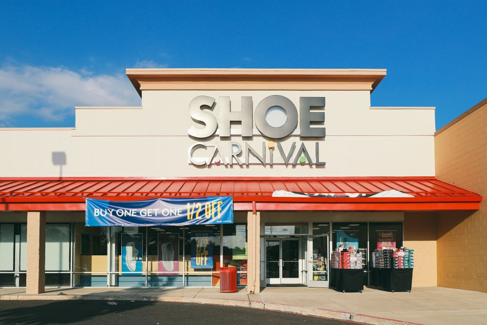 Shoe Carnival Q1 sales fell more than 40 percent but e-commerce showed strong growth as quarantined shoppers flocked to digital channels.