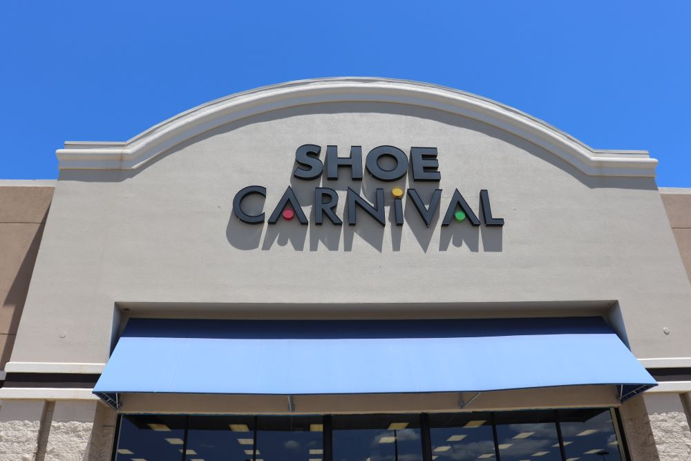 Shoe Carnival stores will begin reopening in May in states where local officials have relaxed stay-at-home orders.