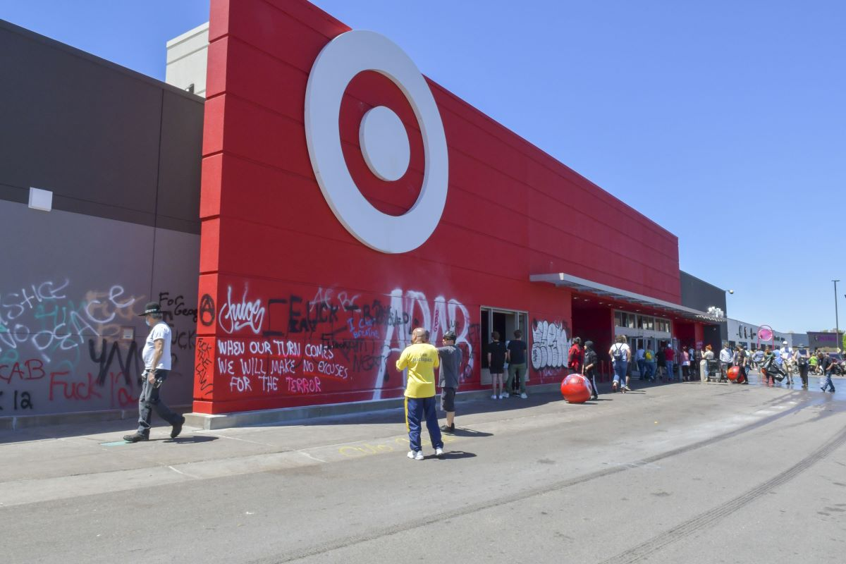 Target expanded the numbers of stores closed nationwide to 175 from 70 as unrest spread across the country.