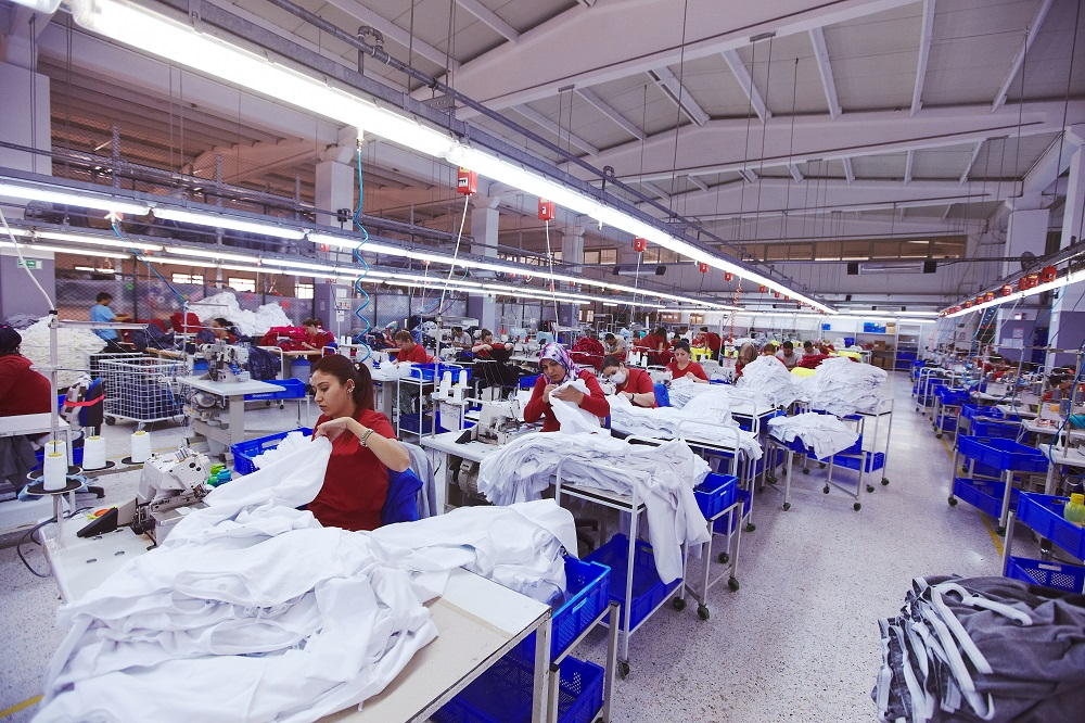 An ITMF survey on the pandemic's impact on the global textile value chain found an expected sales downturn this year of 33 percent.
