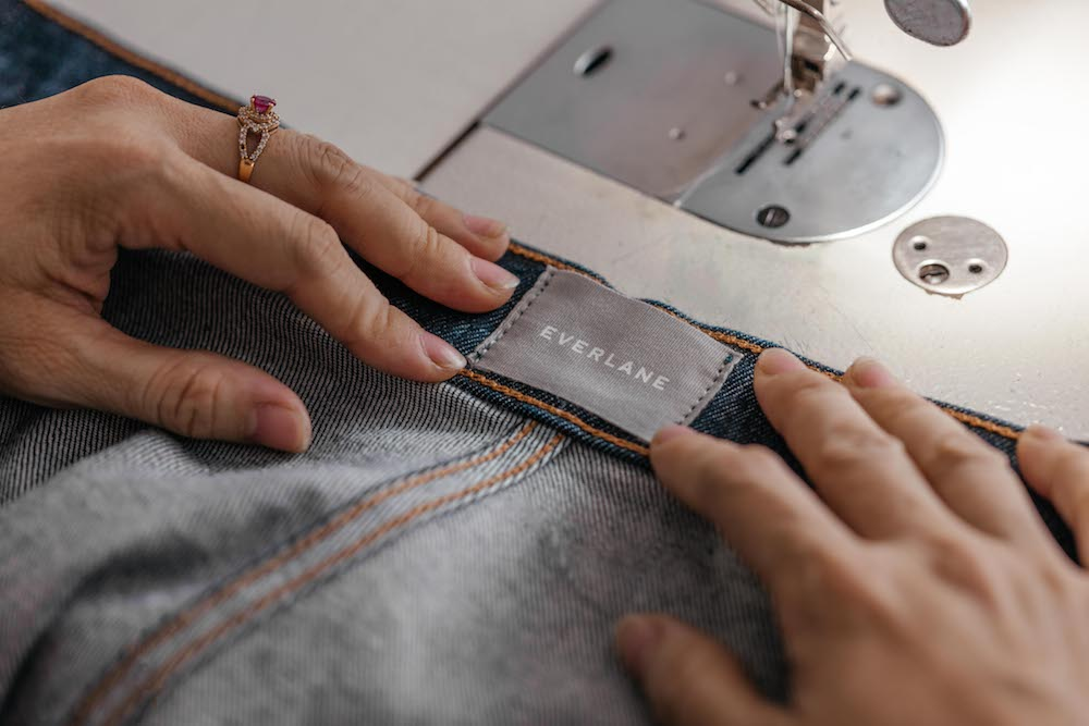 Everlane's longstanding partnership with Orta Anadolu embodies an essential ingredient in fostering a transparent denim supply chain.