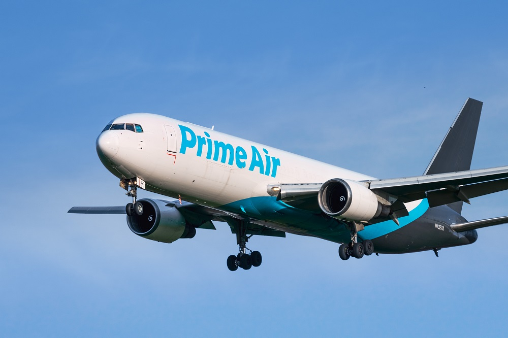 Amazon has leased 12 Boeing 767-300 converted cargo aircraft, as it joins with other delivery mavens investing to provide fast delivery.