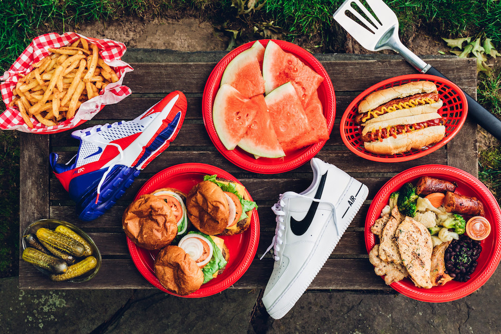 Foot Locker and The Infatuation hosted the Summer Sizzle virtual cookout that gave sneakerheads a chance to win tie-dye Air Jordans.