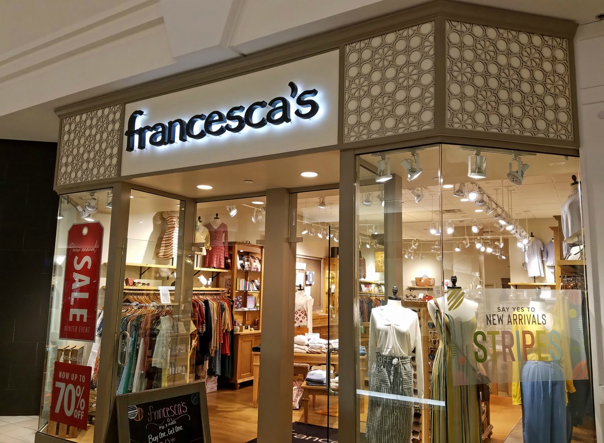Specialty apparel chain Francesca's will resume rent payments to landlords in July, but a bankruptcy filing remains very much on the table.