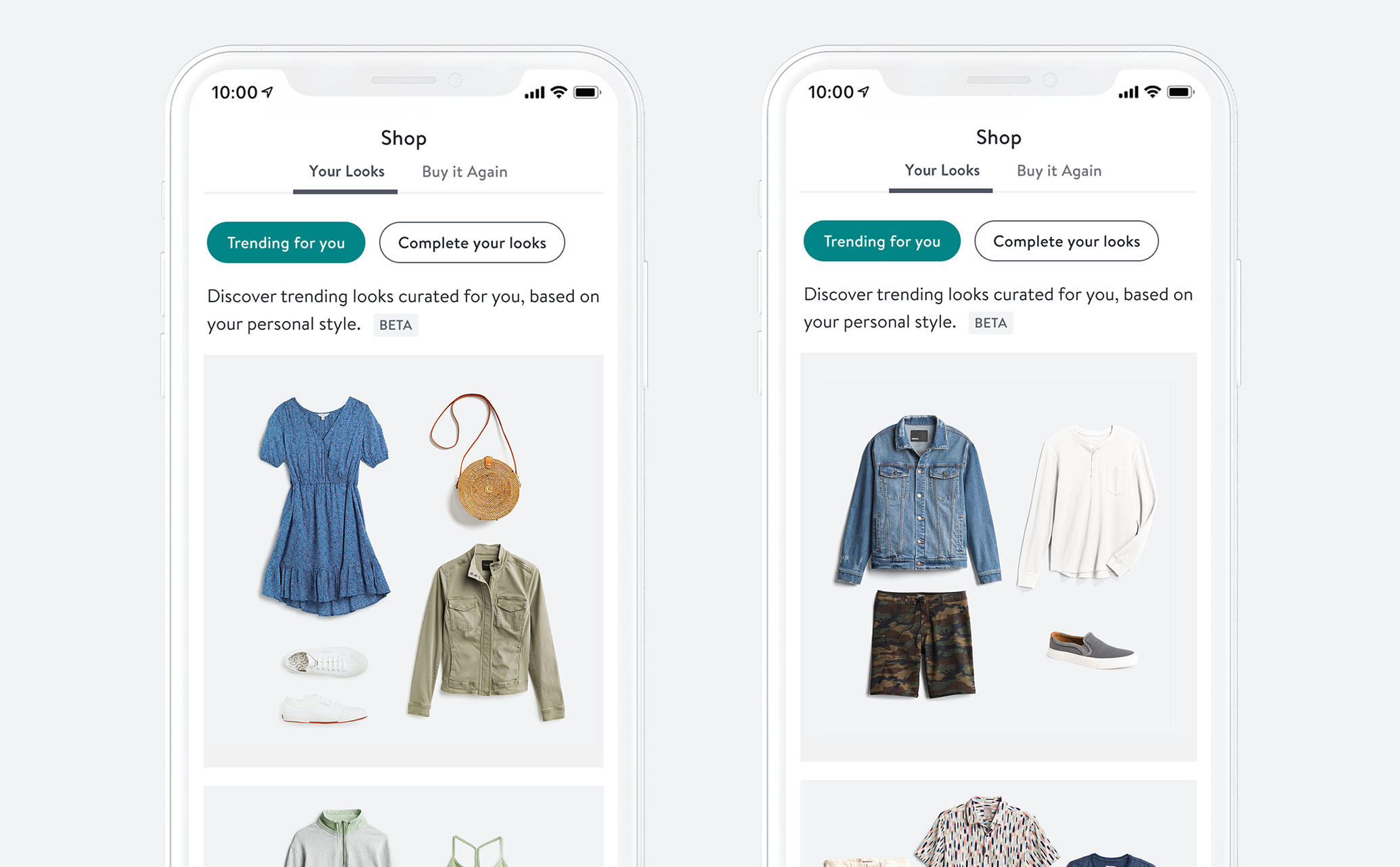 "Stitch Fix introduced ""Trending for You,"" a beta test for a new offering, earlier this month. Shoppers no longer must have previously purchased an item in order to receive product recommendations."