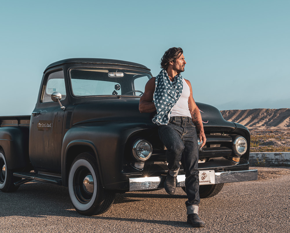 Los Angeles-based and veteran-owned Trinidad3 Jeans will debut men's jeans made with Vidalia Mills' new selvedge denim fabric on July 4.