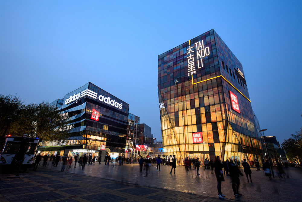 Adidas has reopened two-thirds of its global stores and says strong conversion rates in Greater China compensate for any traffic shortfalls.