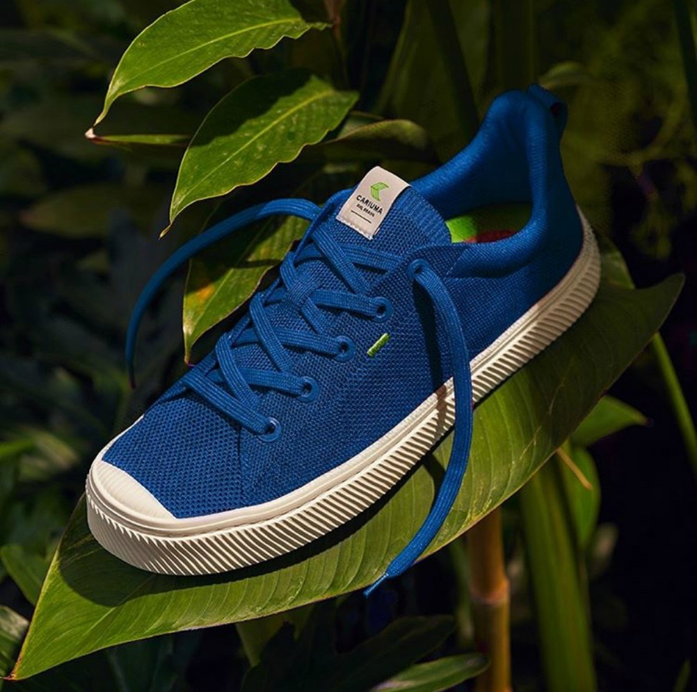 Sustainable Brazilian footwear brand Cariuma launches Pair for Pair giveback, pledging to plant two trees for every pair of shoes sold.