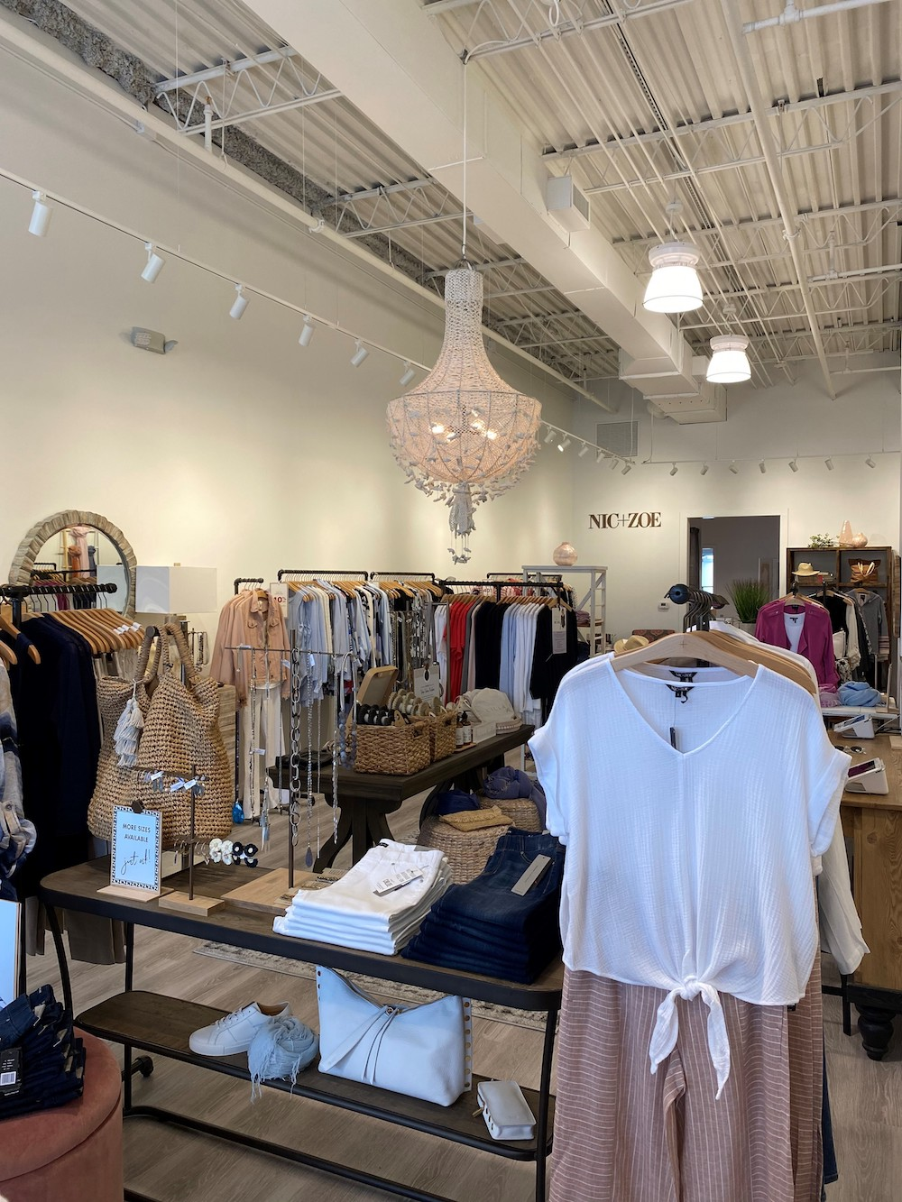 Women's apparel brand Nic+Zoe opened three new stores with new services like curbside pickup and virtual shopping and styling appointments.