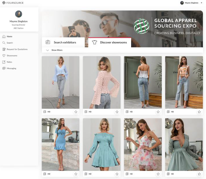 The International Apparel Federation has launched its first Digital Global Apparel Sourcing Expo with Foursource and Sourcing Journal.
