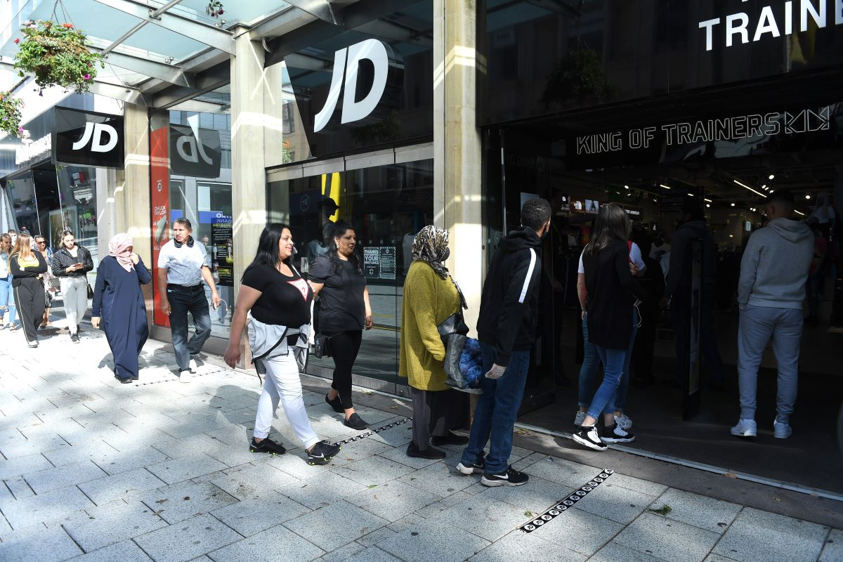 JD Sports put its outdoor retail chain Go Outdoors into administration while U.K. mall operator Intu Properties could face a similar fate.